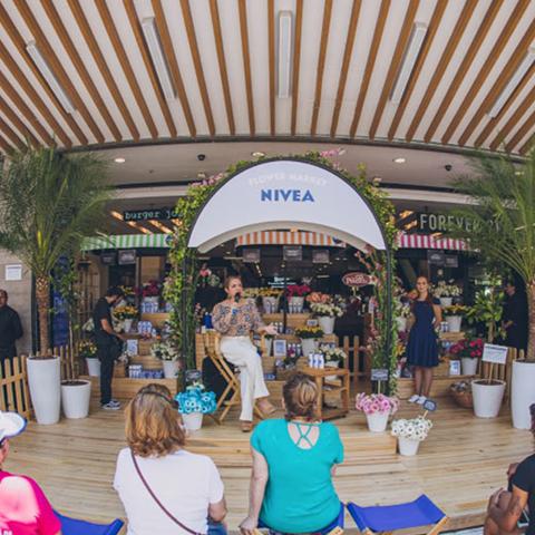 Nivea – Flower Market – SP